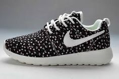 hot sale online aea6e 545bc Now Buy New Arrival Nike Roshe Run Pattern Womens Black Flowers Shoes Save  Up From Outlet Store at Footlocker.