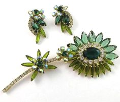 Retro, vintage, and estate jewelry with a flashy, decadent twist.