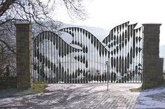 prachtige dynamische poort