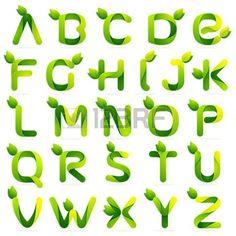öko: Brief Volumen bunte Konzept. Vector Design-Vorlage Elemente für Ihre Anwendung oder Corporate Identity.