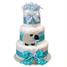 baby shower decoration pictures | Baby Shower Cake Decoration Photograph | Diaper Cake Decorat
