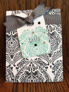Background Baroque by stampin momma - Cards and Paper Crafts at Splitcoaststampers