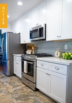 When we came across Kristin's kitchen remodel on Hometalk, not only were we wowed by the transformation of her space, but also by the story of her home