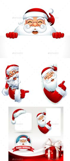 6 Blank Santa Board by richard_dcc Christmas Element. Fully editable and customizable. EPS Perfect for all kind of uses. Christmas Poster, Christmas Banners, Christmas Background, Christmas Greeting Cards, Christmas Greetings, Holiday Cards, Elegant Christmas, Christmas Design, Character Web