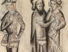 Speculum humanae salvationis 1370 - 1380 BNF Latin 511 fol. 15r