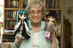 This grandma is actually the original designer of Blythe in 1972 [Allison Katzman].
