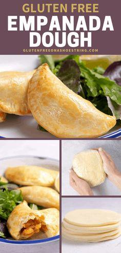 Gluten Free Empanada Dough Gf Recipes, Gluten Free Recipes, Mexican Food Recipes, Cooking Recipes, Healthy Recipes, Mexican Desserts, Snack Recipes, Dinner Recipes, Snacks