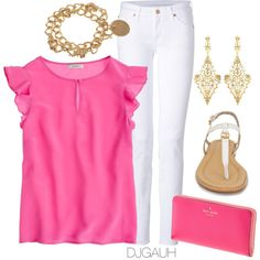 A fashion look from April 2013 featuring ruffle shirt, skinny jeans and flat sandals. Browse and shop related looks.