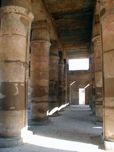 Festival Hall of Thutmoses III, Temple of Amun-Ra Amon, Pillars Of Hercules, Monuments, Ancient Egypt History, The Precinct, Festival Hall, Ancient Architecture, Egyptian, Temples