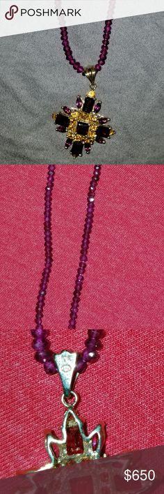 Fashion Jewelry ~ Violet Purple Studded Crystals Magnetic Bracelet 1005 Violet