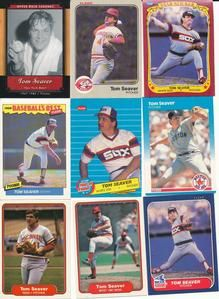 Tom Seaver Huge lot of 50 Baseball cards NY Mets