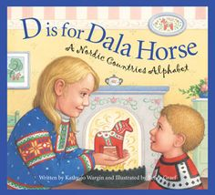 Sweden – D is for Dala Horse – Book review