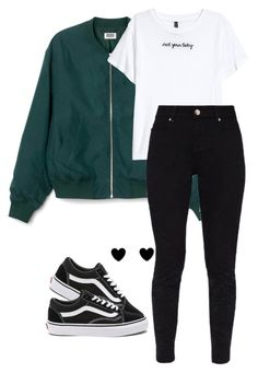"""#233"" by mintgreenb on Polyvore featuring Ted Baker and Vans"
