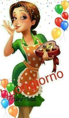 Buongiorno a te (13) - BuongiornoATe.it Cute Good Morning, Good Morning Coffee, Good Night, Girl Cartoon, Cartoon Art, Beautiful Words, Beautiful Pictures, Pin Up Cartoons, Italian Memes