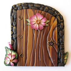 Itty bitty fairy doors -- put in a corner of a child's room?