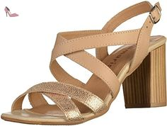 Tamaris 1-28011-38 femmes Sandale Beige, EU 38 - Chaussures tamaris (*Partner-Link)