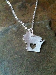 I really want a Wisconsin necklace...if you can't tell!