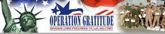 Operation Gratitude: Crochet scarves and hats for our troops. Cool ties in warmer months. I'm in.