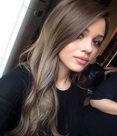 Hair color Ash brown hair, Ash brown hair color, Hair styles Brown hair colors, Hair styles - Bright and Beautiful Hair Color Inspiration For Summer 2018 - Ash Brown Hair Color, Ash Hair, Brown Blonde Hair, Hair Color And Cut, Ombre Hair, Balayage Hair, Cool Tone Brown Hair, Black Hair, Light Ash Brown Hair