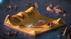 Low Poly Isometric Desert