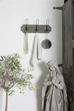Kroklist grå patina - Jeanne d'Arc living