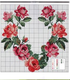 Floral Cross Stitch Pattern