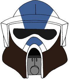 Clone Trooper Helmet 501st legion 5
