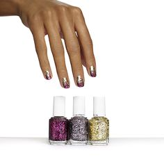 bling it on - nail art looks by essie