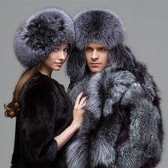 Furs Mens Fur, Fur Accessories, Fur Fashion, High Fashion, Couple Posing, Fur Jacket, Keep Warm, Fur Trim, Winter Hats