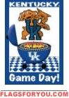 Game Day - U of Kentucky Garden Flag House Flags, Kentucky Wildcats, Garden Flags, Games, Day, Decor, Decoration, Gaming, Decorating