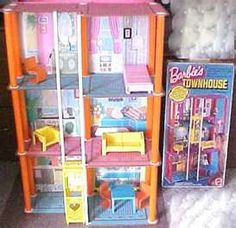 My sister's and I had this Barbie's Townhouse when we were little.