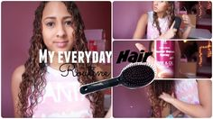 My Everyday Curly Hair Routine | COLLAB