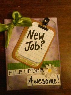 Congrats new job card