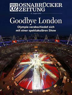 Das war noch einmal very british: Mit einer gigantischen After-Show-Party hat #London am Sonntagabend einen lauten und zugleich bewegenden Schlusspunkt unter die XXX. #Olympischen Spiele gesetzt. Mehr dazu in der iPad-Ausgabe der NOZ vom 13. August und auf www.noz.de. #Olympia