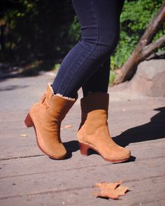 UGG Australia's suede clog boot for women - the #Amoret #TheNextStep #Fall
