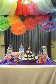 just what i {squeeze} in: Eliza's Rainbow Princess Party