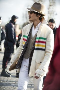 http://chicerman.com  1000yardstyle:  Pitti  #menscasual