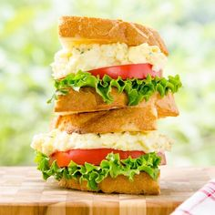 Tarragon Goat Cheese Egg Salad Sandwich stands above the ordinary with fresh herbs and tangy cheese.