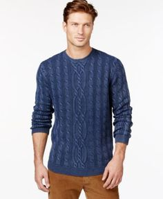 Tommy Bahama Island Surf Cable Sweater