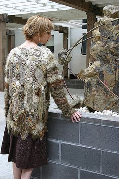 organic jacket by freeform by prudence, via Flickr