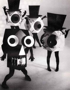 I saw a few concerts of the residents there so original and strange (Original eyeball mask from The Residents music video.)