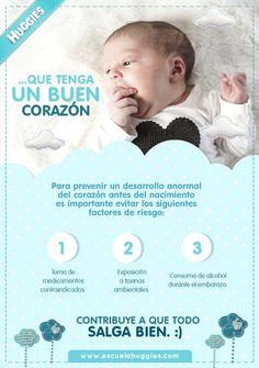 Uno de los deseos más hermosos de los padres primerizos hacia su hijo es...  http://escuelahuggies.com/Semana5/Su-corazon-comienza-a-latir.aspx