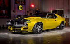 #SEMA  Ringbrothers Debuts Hellcat-Powered 1972 AMC Javelin AMX at SEMA. Lesser-known muscle car gets a Pro-Touring makeover.  #Cars #SuperCars #CarLaunch #AutoNews