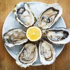 Oysters http://www.eatclean.com/scoops/8-foods-that-have-more-iron-than-beef/8-oysters