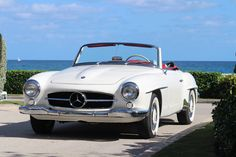 1963 Mercedes 190SL Restored by Palm Beach Classics Awarded several times at Concours!