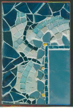 detail of mirror 1996 Mosaics, Contemporary, Mirror, Detail, Rugs, Abstract, Artwork, Home Decor, Farmhouse Rugs