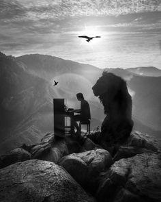 Made this one for Kygo music. Love his music. -- Made this one for Kygo music. Love his music. – Made this one for Kygo music. Love his music. Kygo Wallpaper, Lion Wallpaper, Lion Images, Lion Pictures, Art Prophétique, Surreal Photos, Prophetic Art, Lion Of Judah, Lion Art