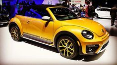 The 2016 Volkswagen Beetle Dune is a cute Baja Bug throwback. The #BajaBug, a traditional Volkswagen Beetle modified for off-road use, got its start in Southern California car culture. It only makes sense, then, that #Volkswagen would choose the Los Angeles Auto Show to unveil its spiritual successor, the 2016 #BeetleDune. Check out all our coverage of the #LosAngelesAutoShow at CNET.com.