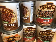 introduced BPA free cans! Talk about exciting news! These cans are made with recycled aluminum! Canned Meat, Ben And Jerrys Ice Cream, Exciting News, Root Beer, Preserves, Gratitude, Advertising, Beef, Canning