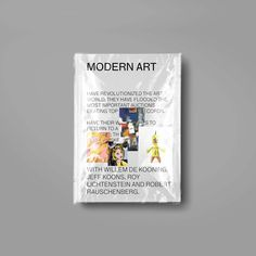 The book on modern art masters closed in a plastic package by Brando Corradini